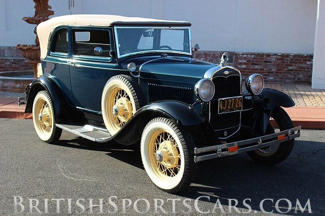 British Sports Cars car search / 1931 Ford Model-A 400A /