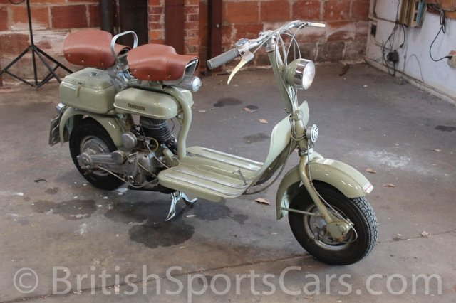 British Sports Cars car search / 1954 Lambretta 125D