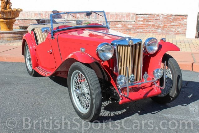 British Sports Cars car search / 1949 MG TC