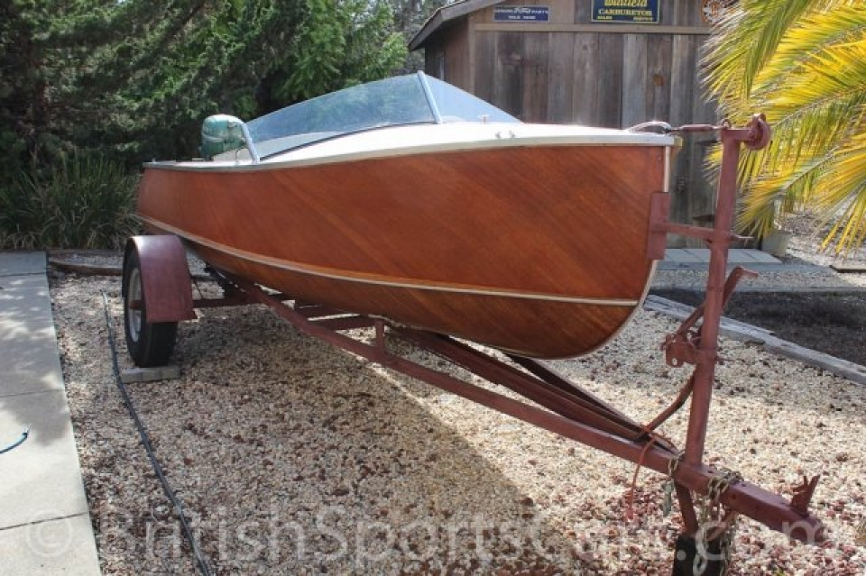 British Sports Cars car search / 1950 Sportscraft Speedboat  /