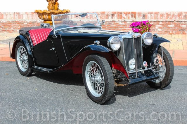 British Sports Cars car search / 1948 MG TC