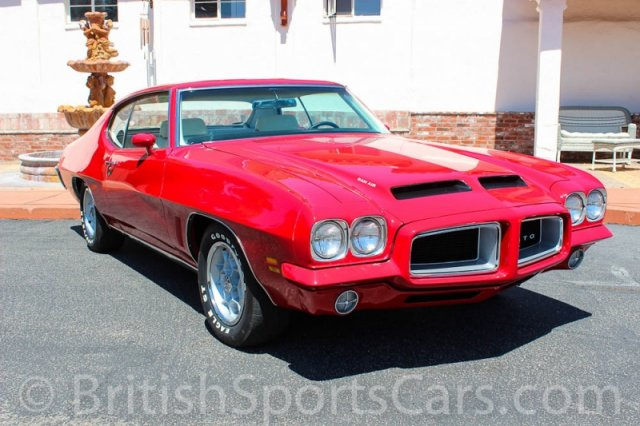 British Sports Cars car search / 1972 Pontiac GTO