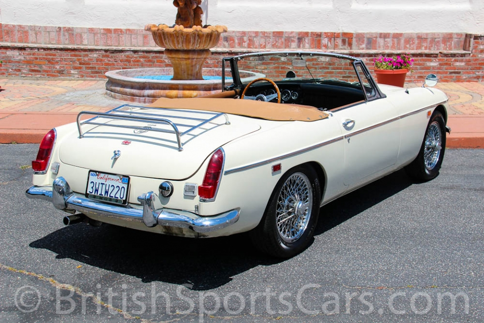 British Sports Cars car search / 1969 MG MGB