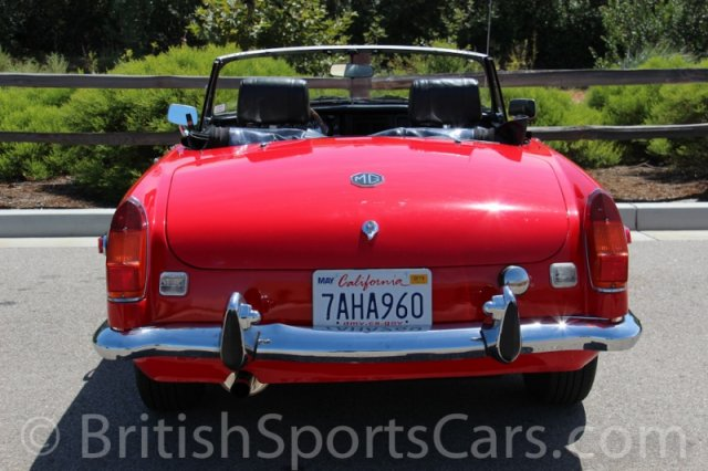 British Sports Cars car search / 1973 MG MGB  /