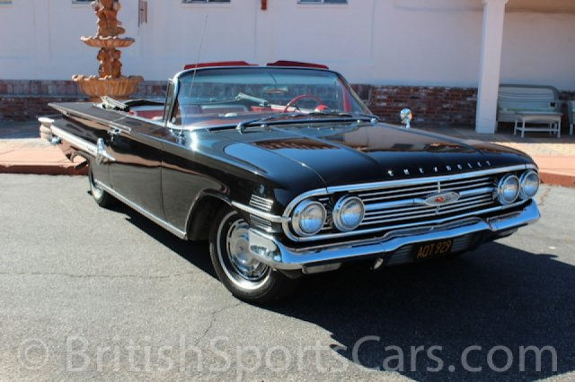 British Sports Cars car search / 1960 Chevrolet Impala