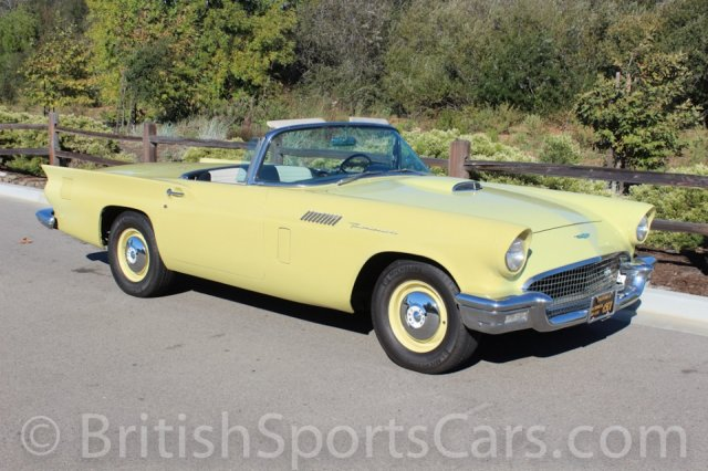 British Sports Cars car search / 1957 Ford Thunderbird