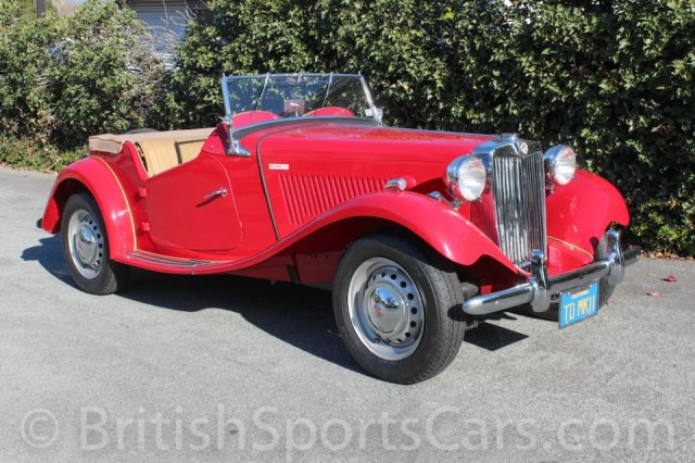 British Sports Cars car search / 1952 MG TD