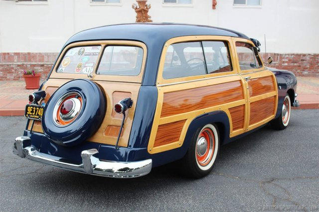 British Sports Cars car search / 1951 Ford Country Squire
