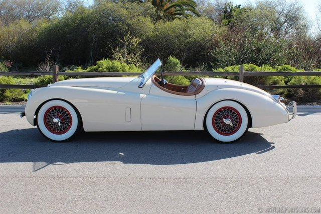 British Sports Cars car search / 1954 Jaguar XK 120