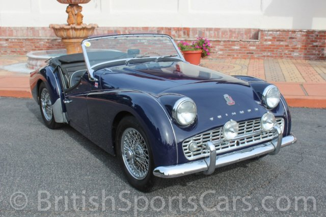 British Sports Cars car search / 1958 Triumph TR3 A
