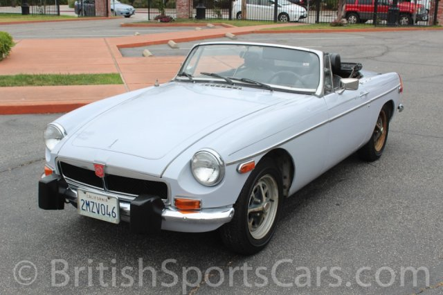 British Sports Cars car search / 1974 MG MGB