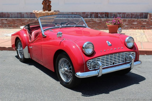 British Sports Cars car search / 1960 Triumph TR3 A