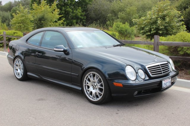British Sports Cars car search / 2001 Mercedes-Benz CLK-Class 55 AMG /