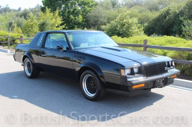 British Sports Cars car search / 1987 Buick Grand National GNX /