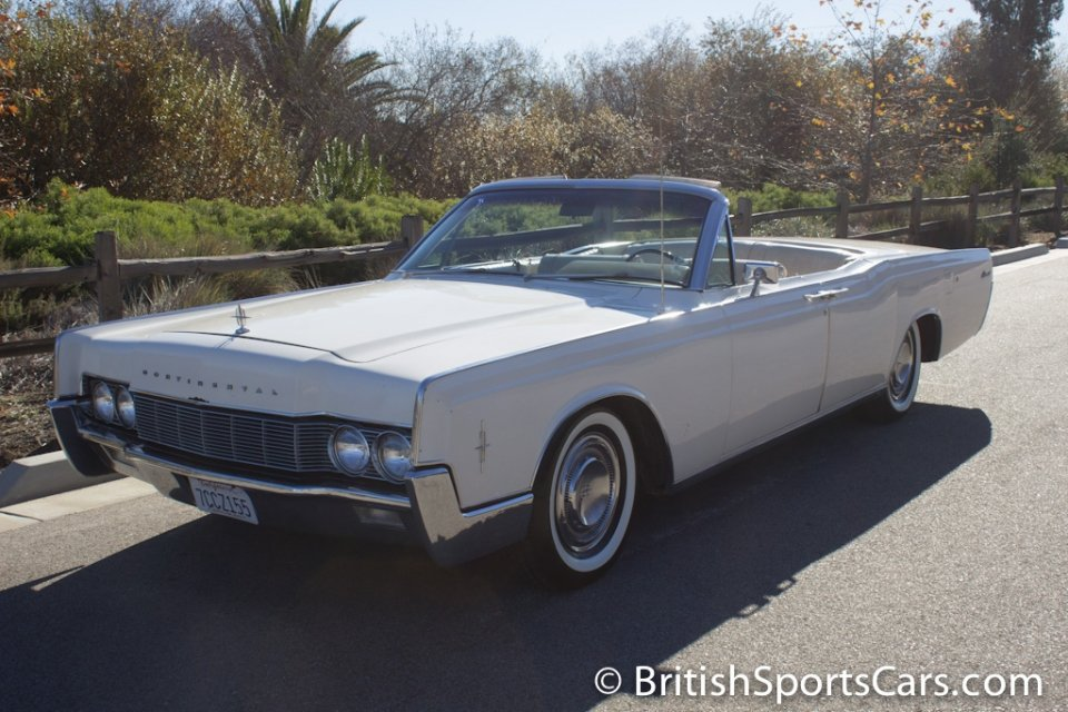 British Sports Cars car search / 1967 Lincoln Continental