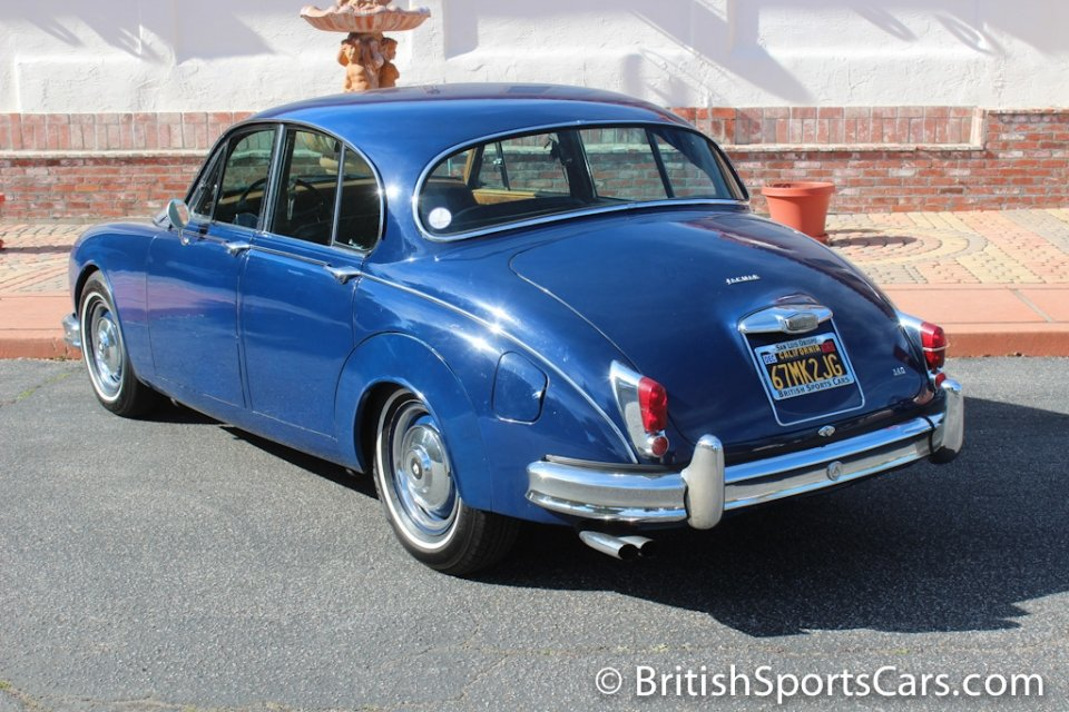 British Sports Cars car search / 1967 Jaguar MK 2