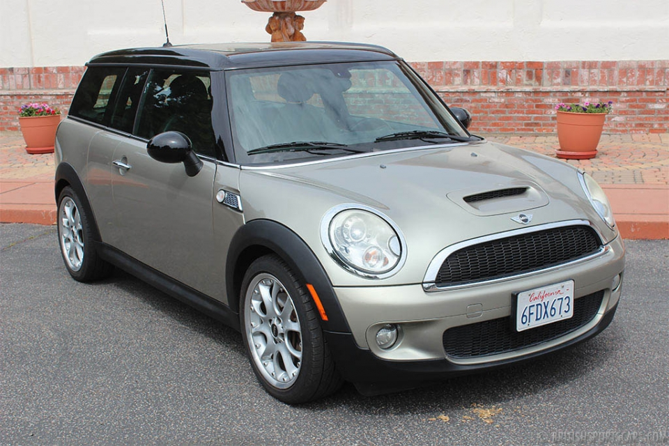 british sports cars 2008 mini cooper s clubman for sale. Black Bedroom Furniture Sets. Home Design Ideas