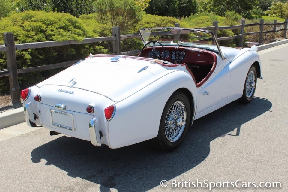 British Sports Cars car search / 1960 Triumph TR3 A