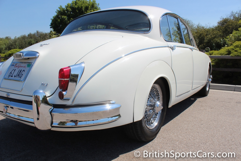 British Sports Cars car search / 1961 Jaguar MK 2