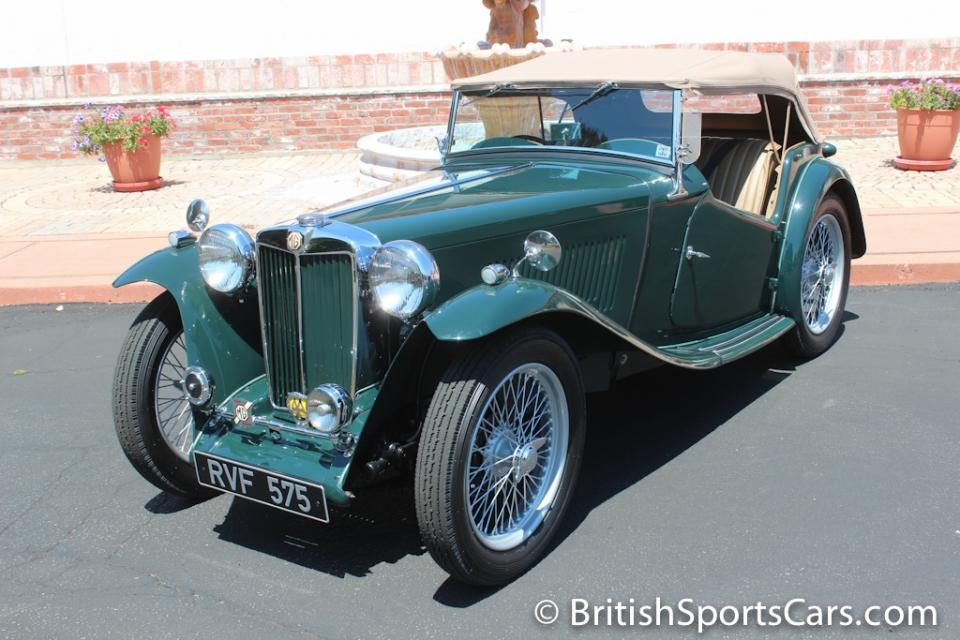 British Sports Cars car search / 1948 MG TC