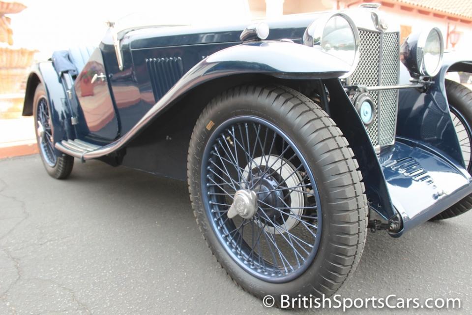 1934 MG J2