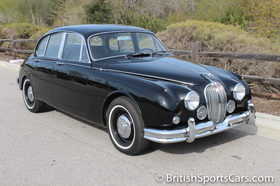 British Sports Cars car search / 1960 Jaguar MK 2