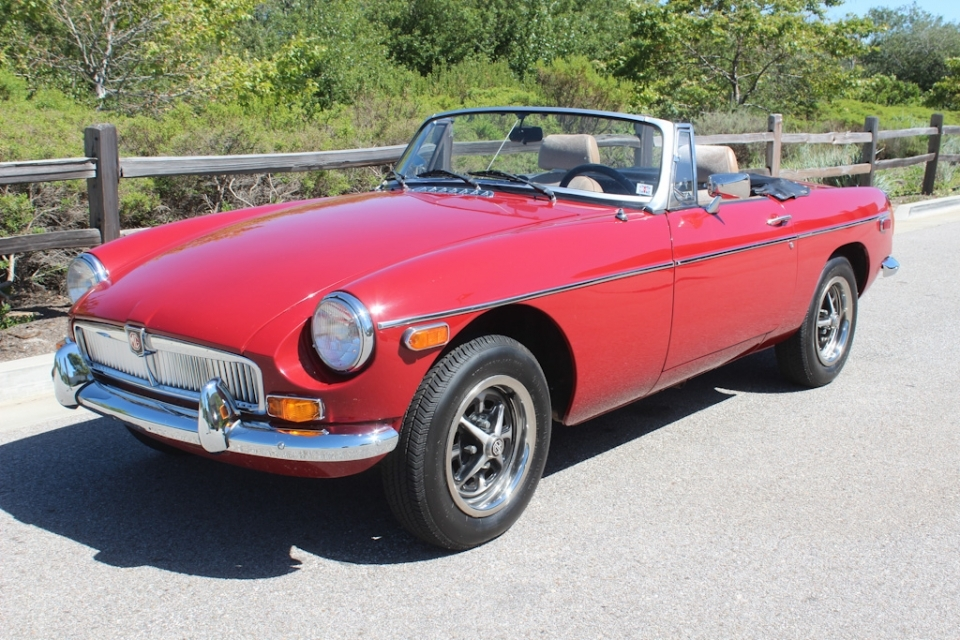 British Sports Cars car search / 1980 MG MGB