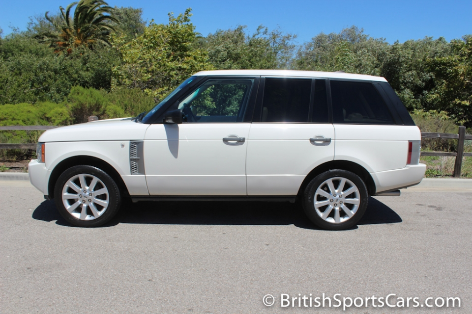 British Sports Cars car search / 2008 Land Rover Range Rover