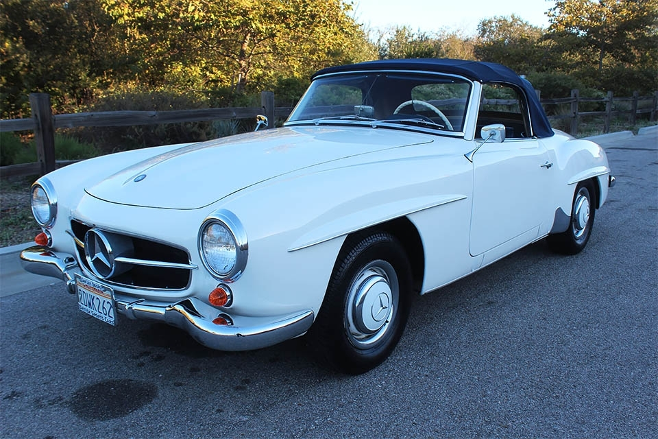British Sports Cars car search / 1960 Mercedes-Benz 190 SL