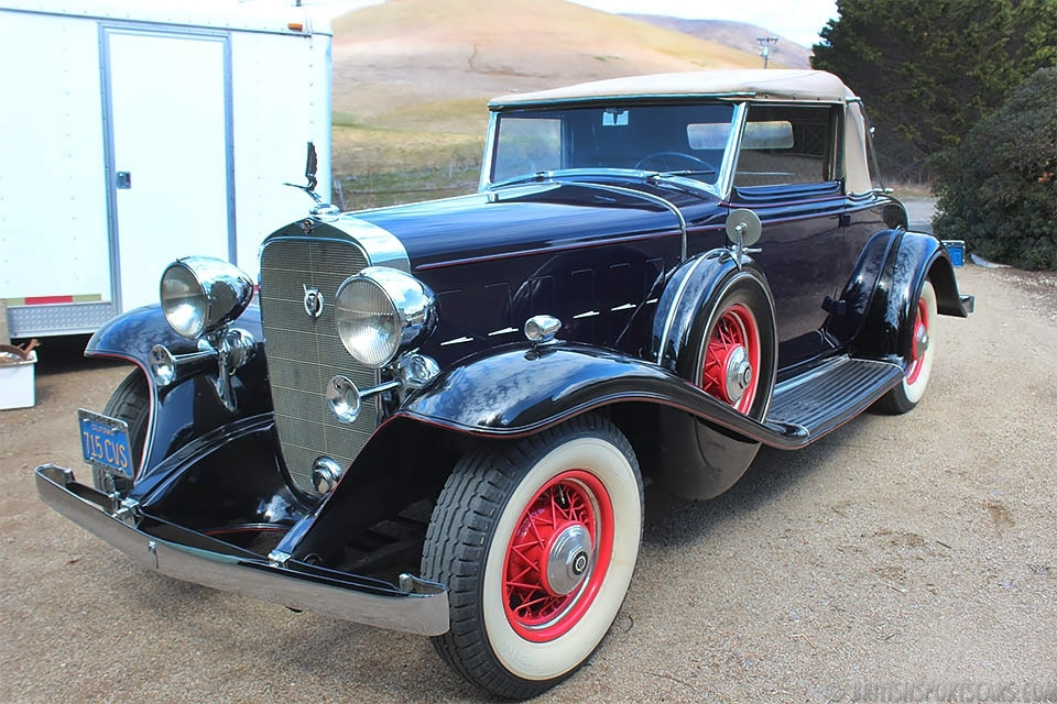 British Sports Cars car search / 1932 Cadillac 355B