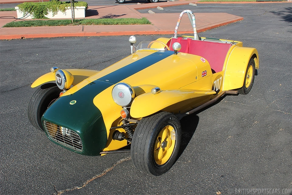 British Sports Cars car search / 1962 Lotus Super Seven