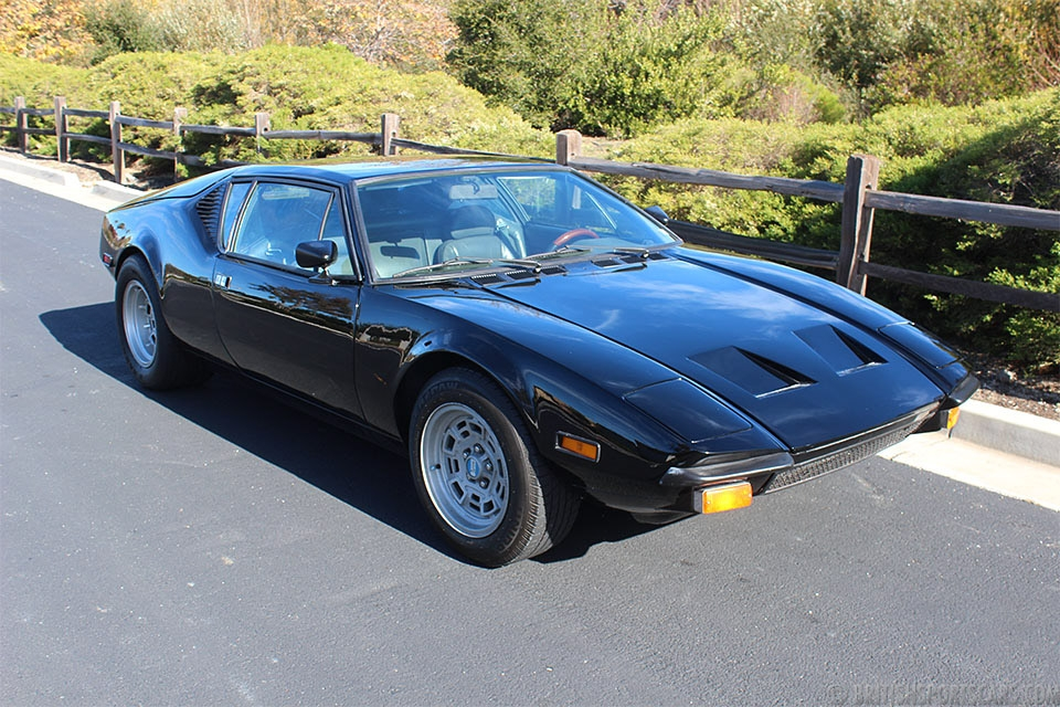 British Sports Cars car search / 1974 DeTomaso Pantera