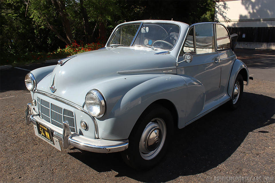 British Sports Cars car search / 1954 Morris Minor 1000