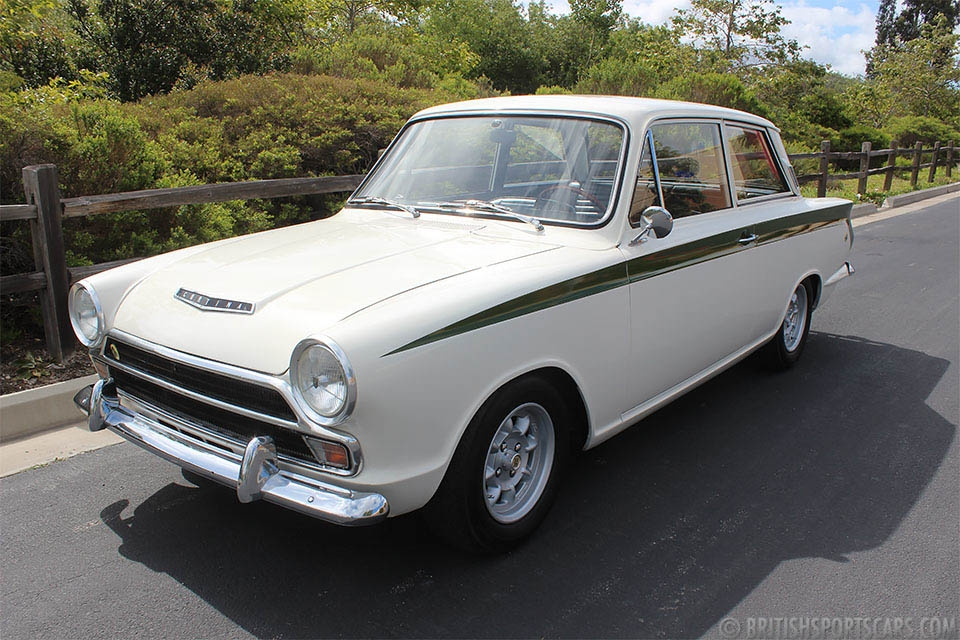 British Sports Cars car search / 1966 Lotus Cortina