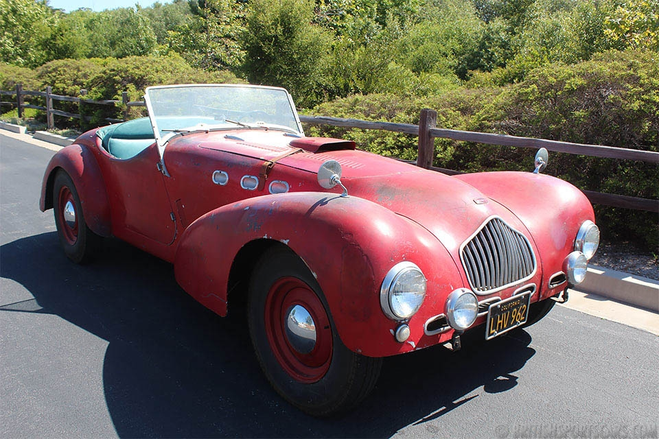 British Sports Cars car search / 1950 Allard K2
