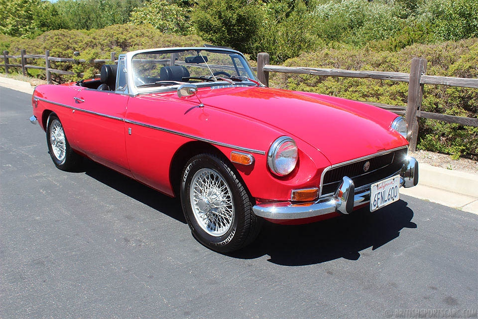 British Sports Cars car search / 1970 MG MGB  /