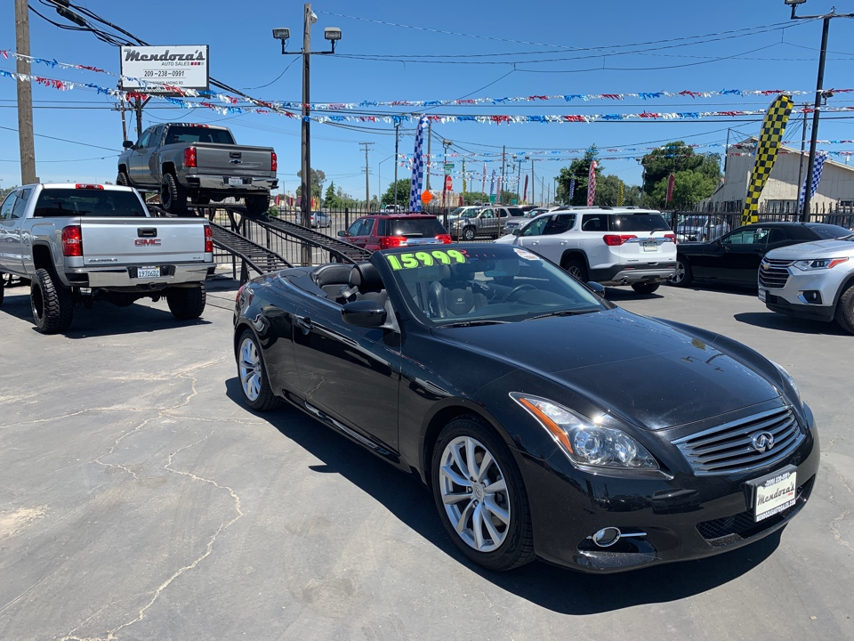 Mendoza's Auto Sales car search / 2011 Infiniti G
