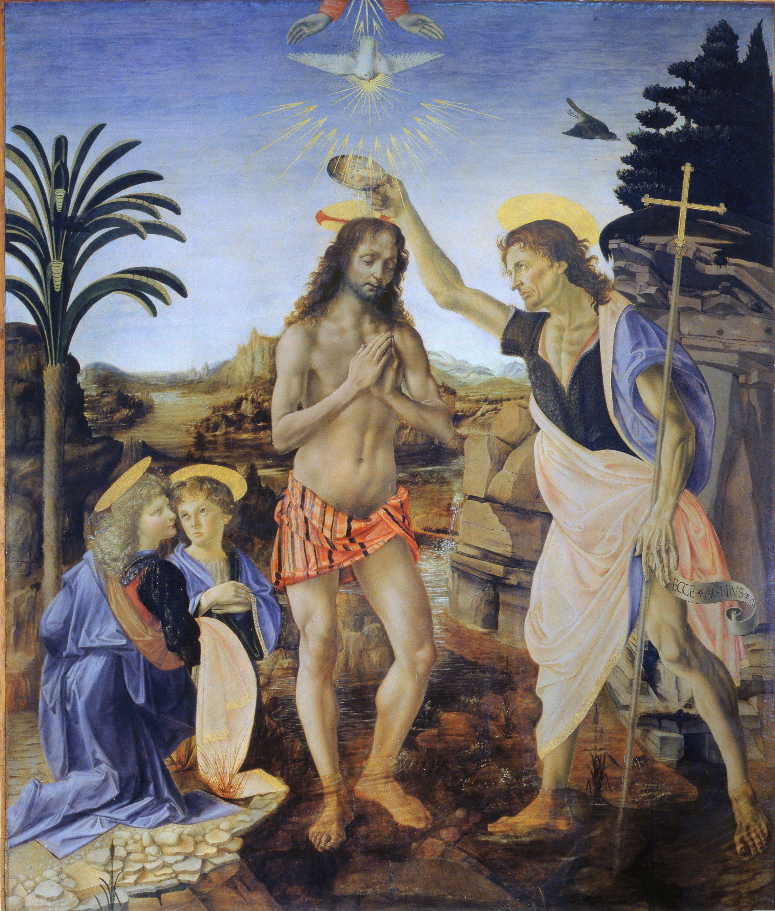 A Preschool Bible Lesson on the Baptism of Jesus