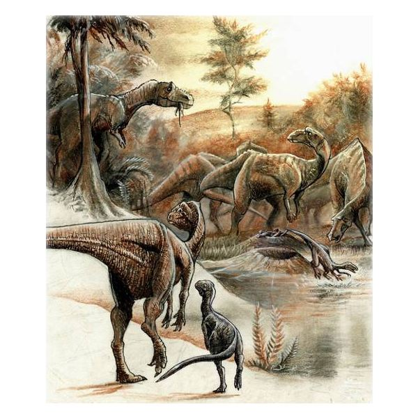 What types of dinosaurs existed?