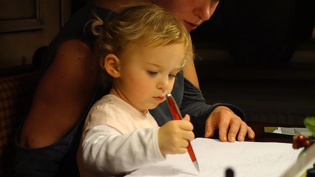 Toddler drawings