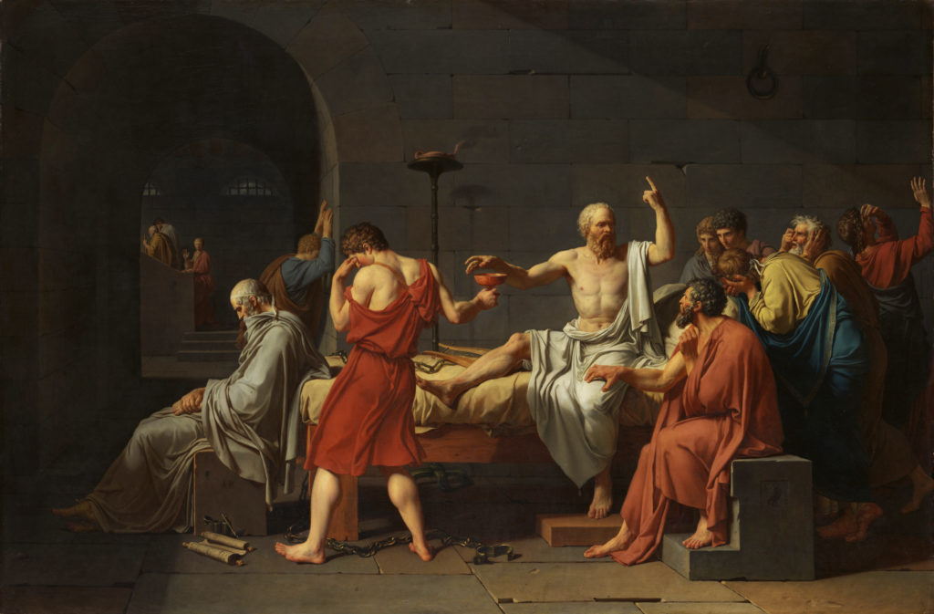 Philosophical view of Socrates