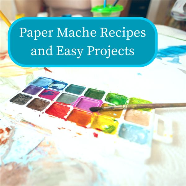 Paper mache projects are easy and fun!