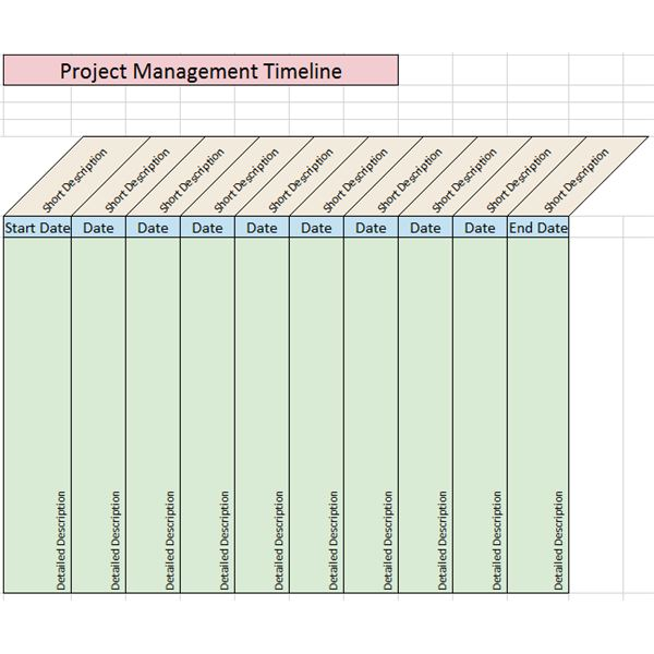 Use these project timeline samples to help create eye-catching reports