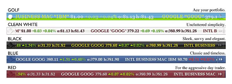 Desktop Stock Ticker - Free Stock Ticker