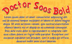 Doctor Soos Font by DaFont.com