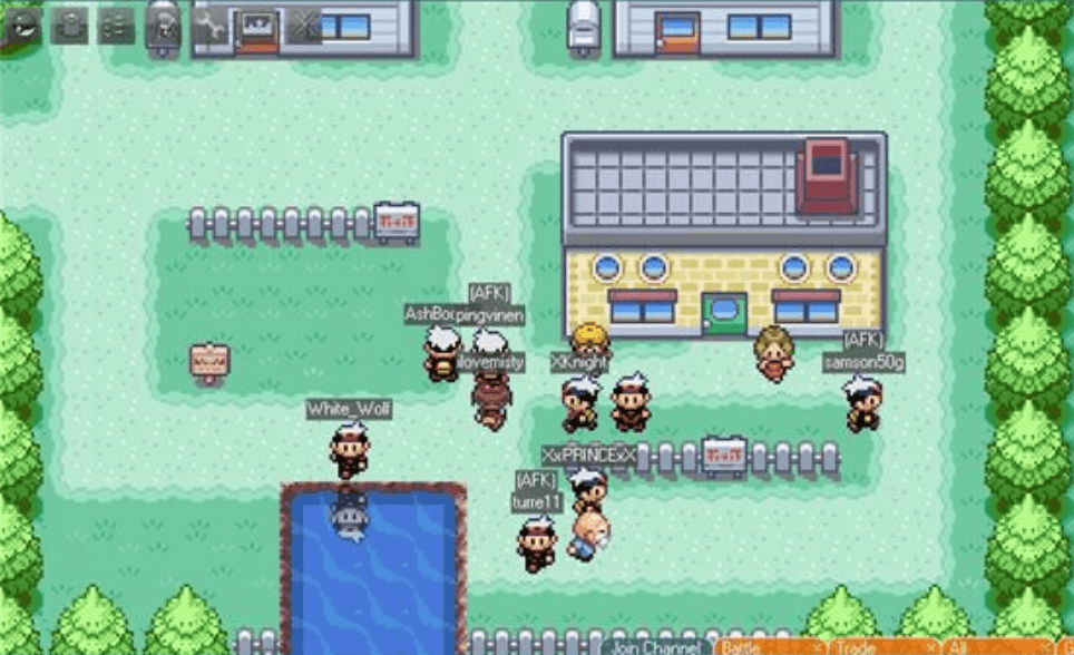 Pokemon Online MMORPG