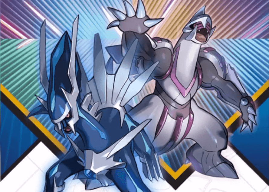 Dialga and Palkia