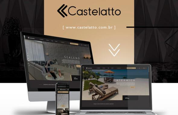 Novo site Castelatto