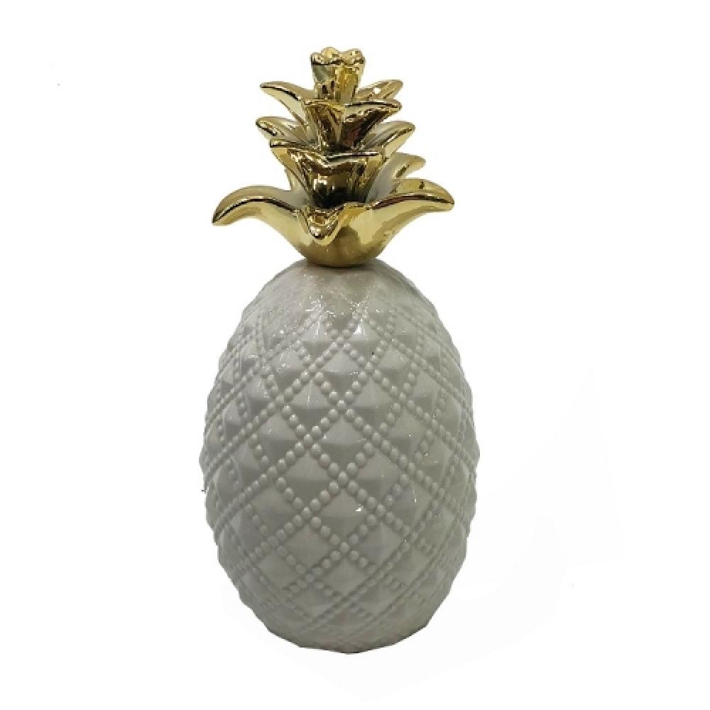 Abacaxi coroa dourada