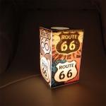 Abajur MDF Route 66